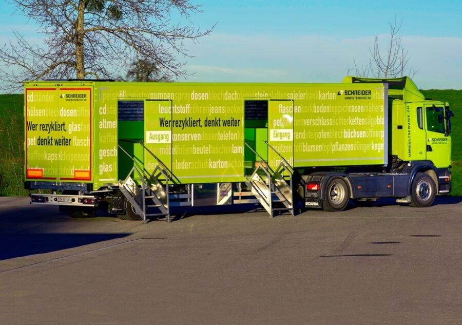 Mobile Sammelstelle